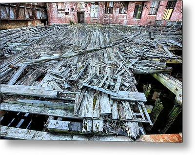 The Empty Planet Metal Print by JC Findley