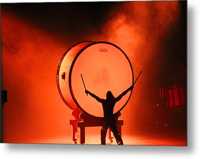 The End Metal Print by Becky Lodes