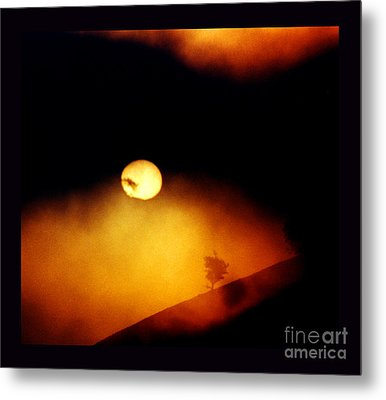 The End Of Reason Metal Print by Susanne Still