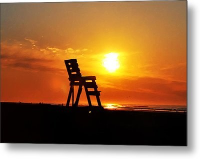 The End Of The Summer Metal Print by Bill Cannon