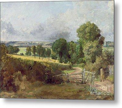 The Entrance To Fen Lane By Constable John Metal Print by John Constable