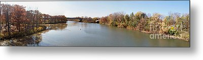 Metal Print featuring the photograph The Erie Canal Crossing The Genesee River by William Norton