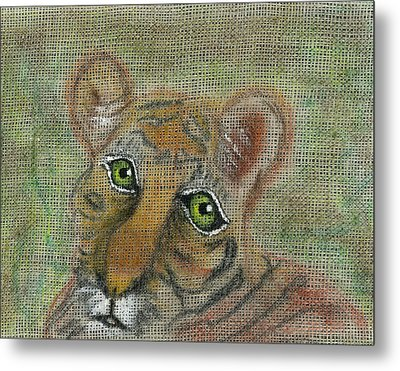 The Eyes Have It Metal Print by Joy Braverman