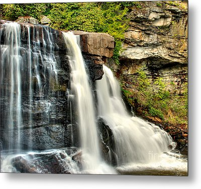 Metal Print featuring the photograph The Face Of The Falls by Mark Dodd