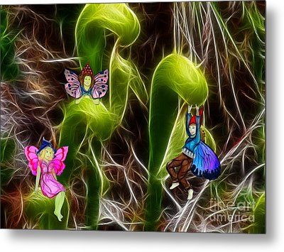 The Fairy's Playground Metal Print by Methune Hively