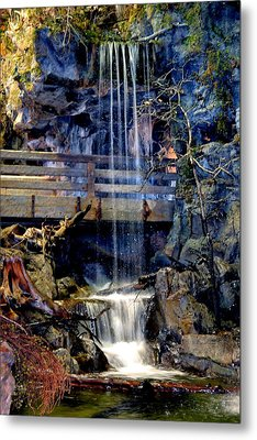 Metal Print featuring the photograph The Falls by Deena Stoddard