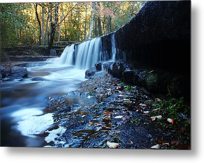 The Falls River Metal Print by Andrew Pacheco