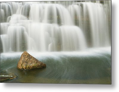 The Falls Rock Metal Print
