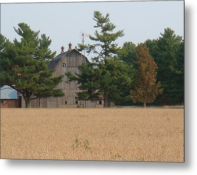 Metal Print featuring the photograph The Farm by Bonfire Photography