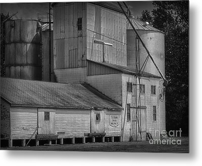 The Feed Mill Metal Print by Tamera James