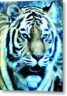 The Fierce Tiger Metal Print by Bill Cannon