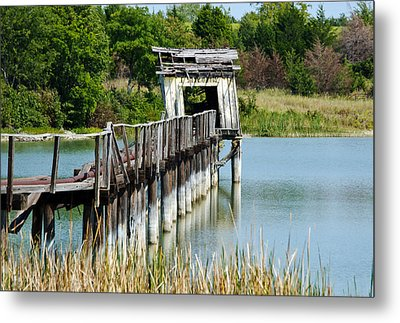 The Fish House Metal Print by Lisa Moore
