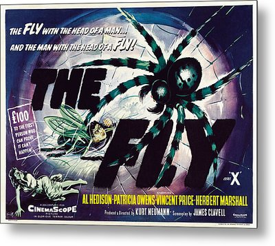 The Fly, David Hedison Aka Al Hedison Metal Print by Everett