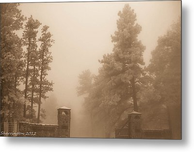 Metal Print featuring the photograph The Fog by Shannon Harrington