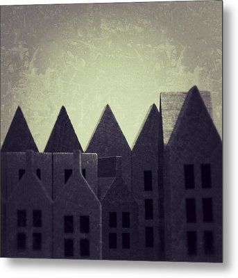 The Forgotten Town - 35 Metal Print by Mirko Lamonaca