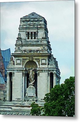 The Former Port Of London Authority Building Metal Print by Steve Taylor