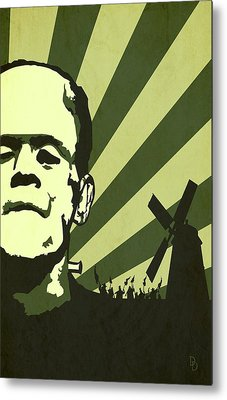 The Frankenstein's Monsters Metal Print by Dave Drake