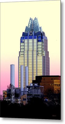 The Frost Tower  Metal Print