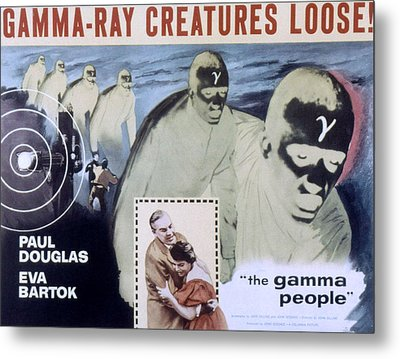 The Gamma People, Paul Douglas, Eva Metal Print by Everett