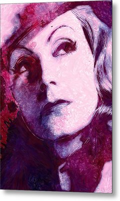 The Garbo Pastel Metal Print by Steve K