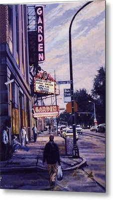 The Garden Theater Metal Print by James Guentner