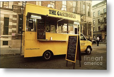 The Gastrobus Metal Print by Nina Prommer