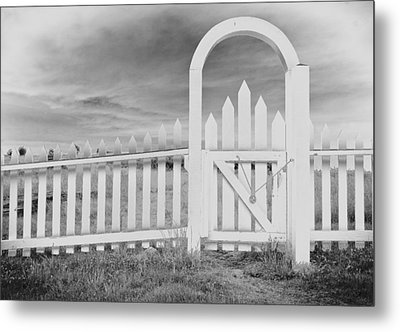 The Gate Metal Print by Tony Locke