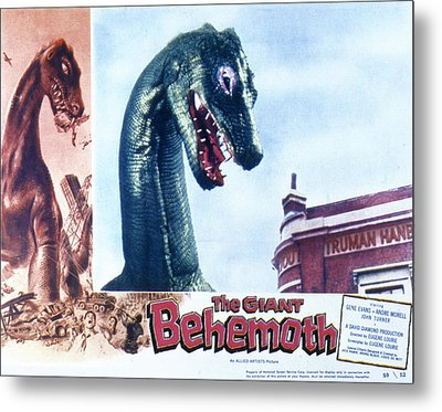 The Giant Behemoth, 1959 Metal Print by Everett