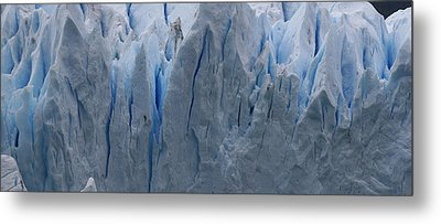 Metal Print featuring the photograph The Glacier Up Close by Andrei Fried