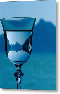 The Glass Metal Print