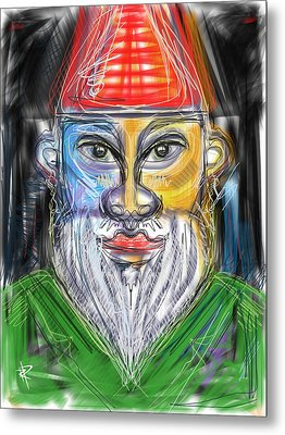 The Gnome Metal Print