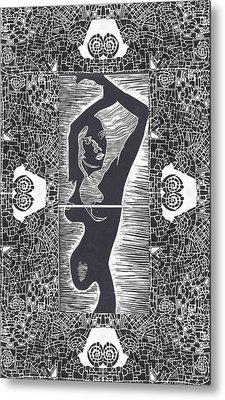The Goddess Metal Print by Branko Jovanovic