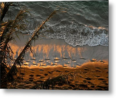 The Golden Moment IIi Metal Print by Kirsten Giving