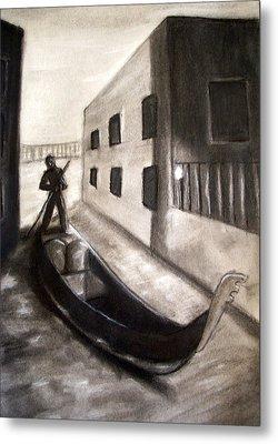 The Gondola Metal Print by C Nick