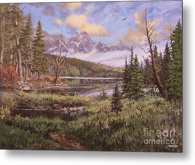 The Gore Range Metal Print by W  Scott Fenton