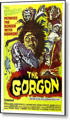 The Gorgon, Prudence Hyman Metal Print