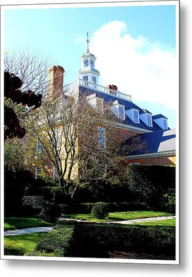 The Governors Palace Metal Print by Frank Wickham