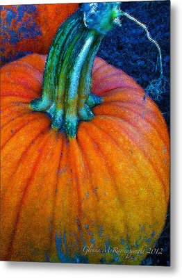 The Great Pumpkin Metal Print by Glenna McRae