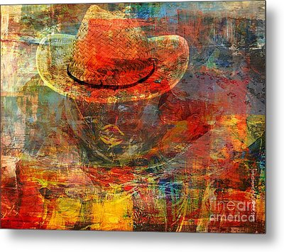 The Greatest Hope Is Not The Hat Metal Print by Fania Simon