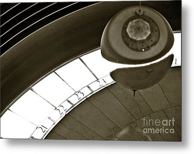 The Greenwich Observatory Ball Metal Print by Micah May