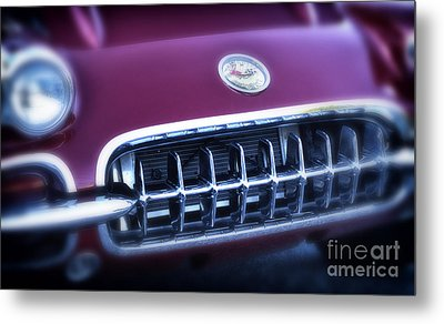 The Grille Metal Print by Tamera James