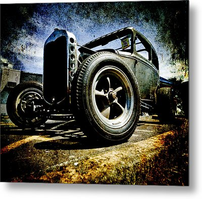 The Grunge Rod Metal Print
