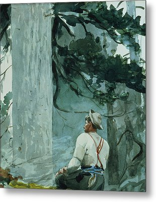 The Guide Metal Print by Winslow Homer