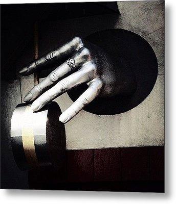 The Hand Metal Print by Natasha Marco