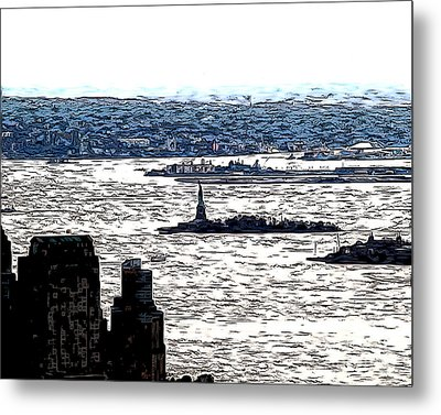 Metal Print featuring the photograph The Harbor by Anne Raczkowski