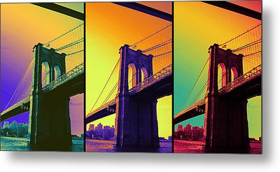 The Hardest Thing In Life To Learn Is Which Bridge To Cross  Metal Print by Jenn Bodro