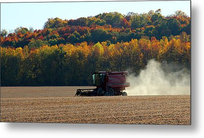 The Harvest Metal Print by James Hammen