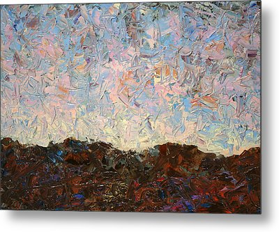 The Hills Metal Print by James W Johnson