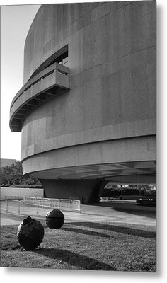 The Hirshhorn Museum I Metal Print by Steven Ainsworth