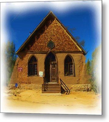 The Historic Hearst Church Metal Print by FeVa  Fotos